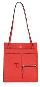OAD Kit Grained Leather Tote Bag