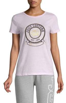 Juicy Couture Crown Logo Tee