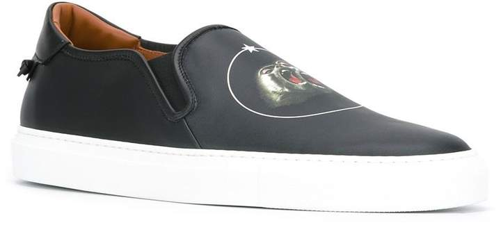 Givenchy Monkey Brothers slip-on sneakers