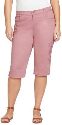 Gloria Vanderbilt Plus Size Sasha Skimmer Capris
