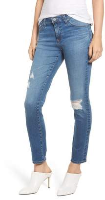 AG Jeans The Prima Ripped Ankle Cigarette Jeans (17 Years Enduring)