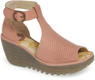 cc3125530a9 Fly London Pink Women s Sandals - ShopStyle