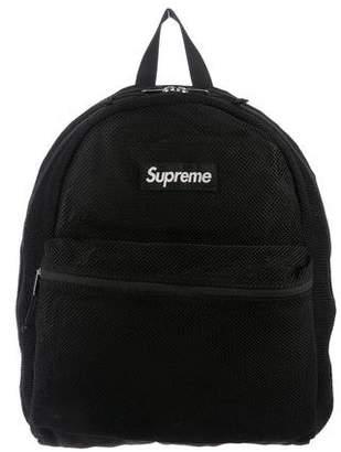 Supreme 2016 Box Logo Mesh Backpack
