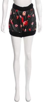 Dolce & Gabbana Vegan Leather Mini Shorts