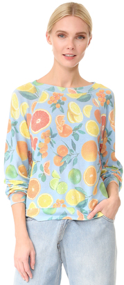 Wildfox Fresh Citrus Pullover $118 thestylecure.com
