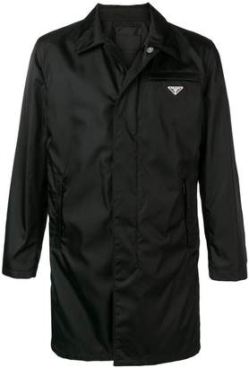 Prada chest pocket raincoat