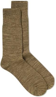 Beams Melange Combat Sock