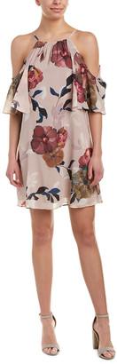 Trina Turk Seraphima Silk-Blend Shift Dress