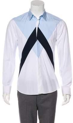Kenzo Colorblock Button-Up Shirt