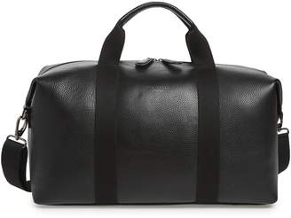Ted Baker Holding Leather Duffel Bag