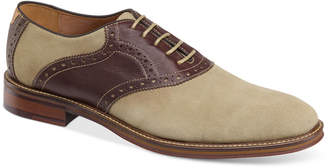 Johnston & Murphy Men's Warner Saddle Lace-Up Oxfords