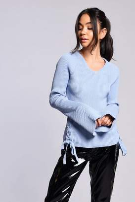 Glamorous **Tie Side Knitted Jumper