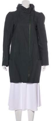 Marni Knee-Length Hooded Coat
