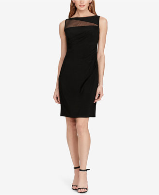 American Living Mesh-Detail Sheath Dress $79 thestylecure.com