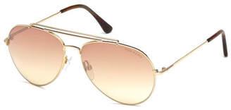 Tom Ford Metal Aviator Sunglasses