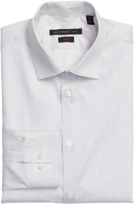 John Varvatos Slim Fit Stripe Stretch Dress Shirt