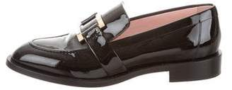 Roger Vivier Round-Toe Buckle Loafers