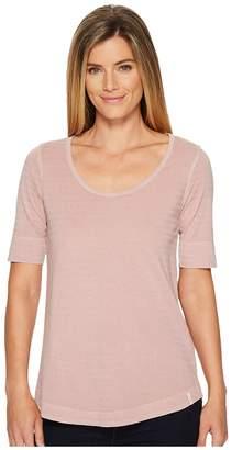 Woolrich Meadow Forks 3/4 Sleeve Shirt Women's T Shirt