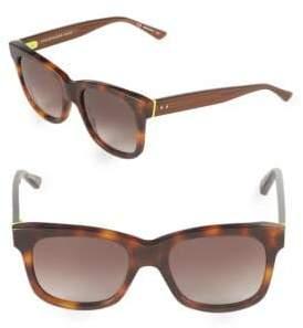 Christopher Kane 53MM Square Tortoiseshell Sunglasses