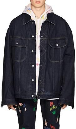 Acne Studios Men's Pepper Denim Oversized Jacket