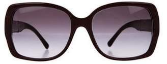 Burberry Nova Check Square Sunglasses
