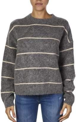 Acne Studios Wool-mohair Blend Striped Jumper