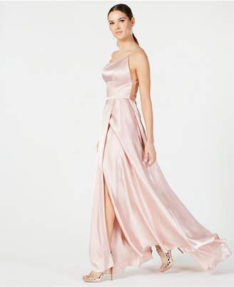 338bb31a9b8 Betsy   Adam Beige Evening Dresses - ShopStyle