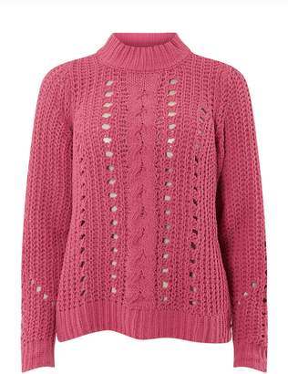 Dorothy Perkins Womens **Vero Moda Pink High Neck Jumper