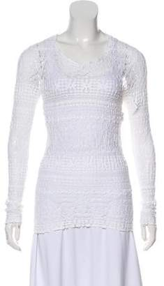 4e5ed65103b Isabel Marant Lace Long Sleeve Tunic