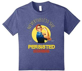 Nevertheless She Persisted Rosie The Riveter Resist T-shirts