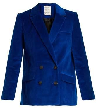 Maison Rabih Kayrouz Double-breasted cotton-corduroy jacket