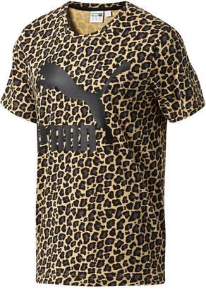 Puma Men Wild Pack Cat-Print T-Shirt