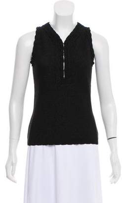 Andrew Gn Sleeveless Knit Top