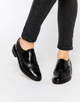 H By Hudson Affix Slip On Leather Brogues