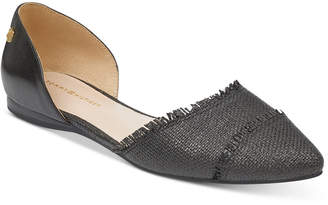 Tommy Hilfiger Women's Neoline Pointed Toe d'Orsay Flats Women's Shoes