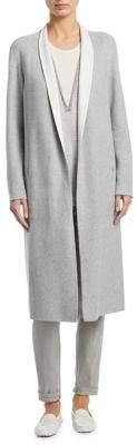 Akris Padua Silk Jersey Coat