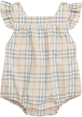Burberry Ruffle Apron Back Bodysuit