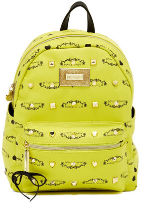 Betsey Johnson Signature Mini Backpack $108 thestylecure.com