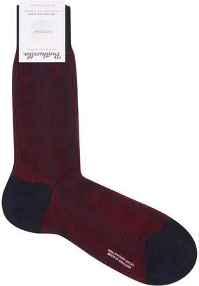 Pantherella Striped Short Socks