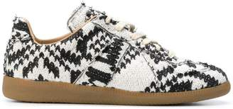 Maison Margiela knitted sneakers