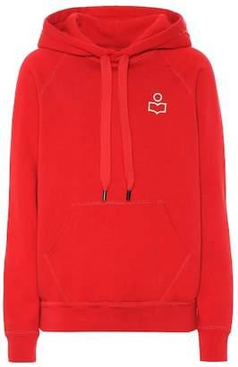 Etoile Isabel Marant Isabel Marant, Étoile Malibu cotton-blend jersey hoodie