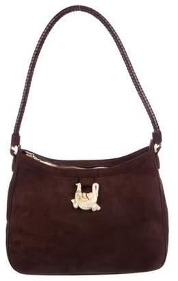 Kieselstein-Cord Suede Shoulder Bag