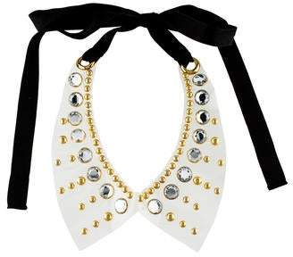 Marni Studded Transparent Collar Necklace