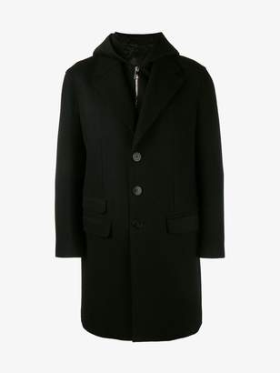 Neil Barrett layered coat