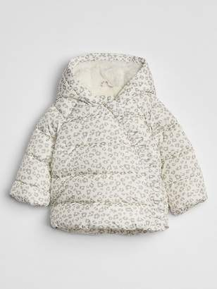 Gap ColdControl Max Print Puffer Jacket