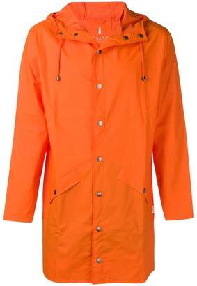 Rains water-resistant hooded coat