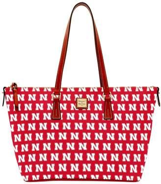 Dooney & Bourke NCAA Nebraska Zip Top Shopper
