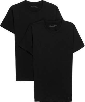 Under Armour Cotton Stretch Short-Sleeve Crew T-Shirt - 2-Pack - Men's