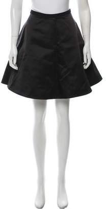 Acne Studios Flared Knee-Length Skirt