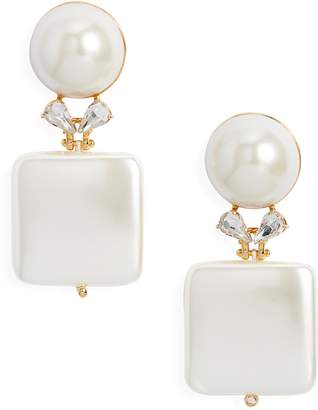 Lele Sadoughi Starlet Stone Drop Earrings